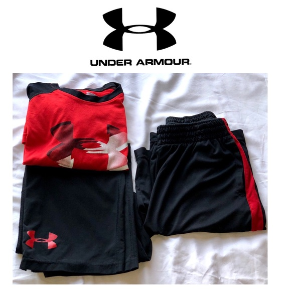 Under Armour Other - Under Armour Shirt, Pant & Reebok Shorts